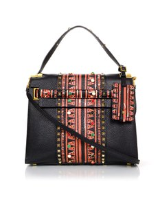 Valentino Rockstud Tribal Shoulder Bag
