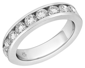 1.95 Carat Natural Diamond Channel Set Superfine Quality Wedding Band