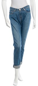 Rag & Bone & Size 27 Boyfriend Cut Jeans-Light Wash