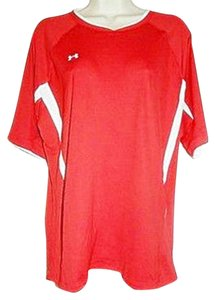 Under Armour Under Armour T-Shirt HeatGear Red Athletic Sport Top