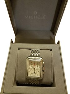 Michele BRAND NEW AUTHENTIC MICHELE Deco Moderne II 16 Watch