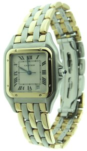 Cartier Cartier Panthere Mid-Size 27mm 3 Row 18K Yellow Solid Gold / SS Date W