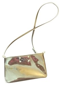 Kate Spade Messenger Patent Leather Shiny White Cross Body Bag
