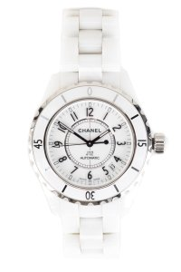 Chanel Chanel White Ceramic J12 Watch