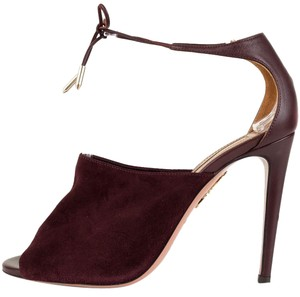 Aquazzura Oxblood Pumps