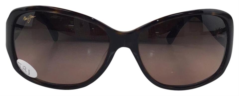 7c487299d6c8 Maui Jim Maui Jim MJ 295-10 Polarized Nalani Brown plastic Style Sunglasses  Image 0 ...