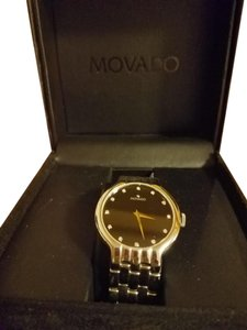 Movado Movado Watch Venturi Black Face