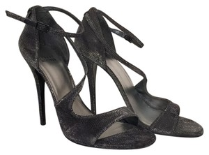 Stuart Weitzman black silver Formal
