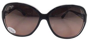Maui Jim Maui Jim Maile 294-02k Crystal Black Plastic Rose Polarize Sunglasses