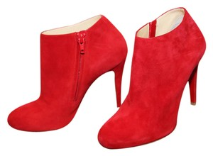 Christian Louboutin Red/Moroccan Red Boots
