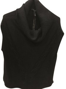 White House | Black Market Sleeveless Layer Poncho Sweater