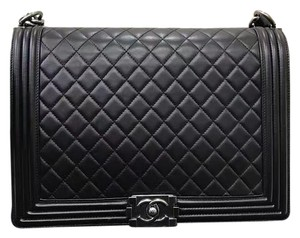 Chanel Calfskin Large Le Boy Shoulder Bag