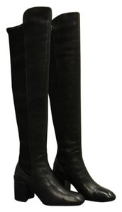 Stuart Weitzman Over-the-knee Leather Over The Knee Over The Knee Black Boots
