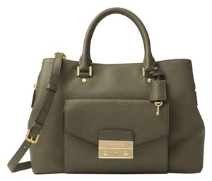 Michael Kors Next Day Shipping Satchel in Olive