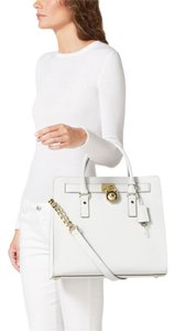 MICHAEL Michael Kors Tote in Optic White