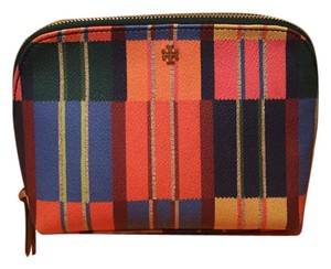 Tory Burch New!!! Kerrington Cosmetic Case- Blanket Stripe Color
