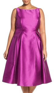Adrianna Papell Tea Length Dress