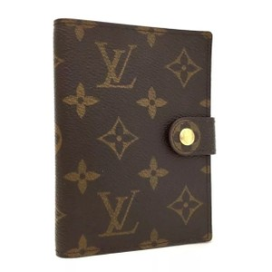 Louis Vuitton RARE*Monogram Mini Agenda Notebook Cover