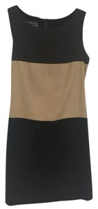 Pellini short dress Brown, Tan, Black on Tradesy