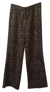Mossimo Supply Co. Casual Flare Widelegged Wide Leg Pants Black / White