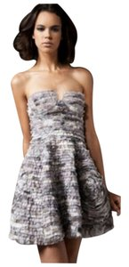 Diane von Furstenberg Wrap Strapless Sweetheaet Cocktail Dress