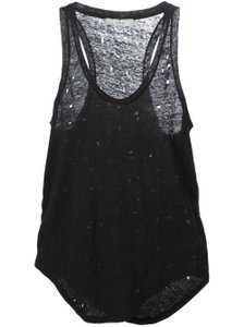IRO Tank Doris Racer Back Black Top