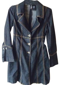 Bisou Bisou Womens Jean Jacket