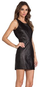 Capulet Mini Leather Dress