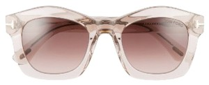 Tom Ford Tom Ford Clear Greta sunglasses NWT