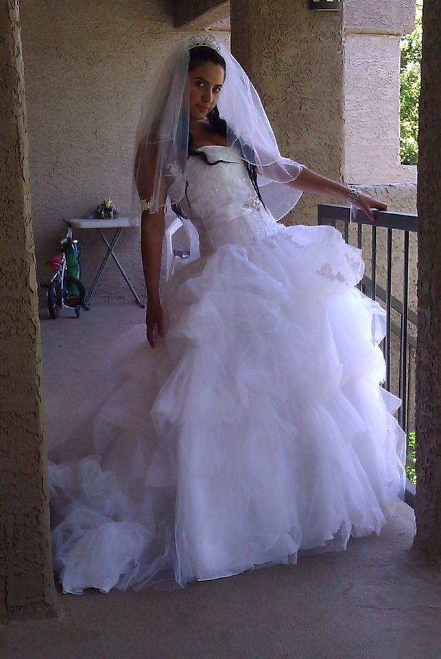 9352w wedding dress for Christian michele wedding dress