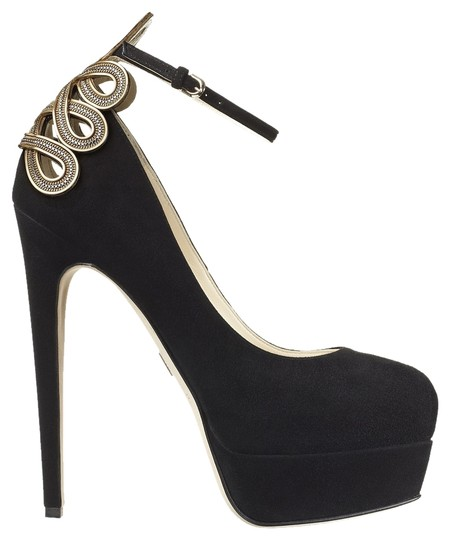 Brian Atwood Black/Nero Platforms