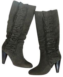 Steve Madden Suede Grey Boots