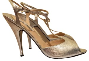 Steven by Steve Madden T-strap Prom Formal Wedding Bridesmaid Silver Sandals