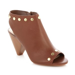 Vince Camuto Coach Leather - Brown Boots