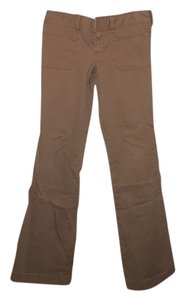 Hollister Khaki Tan Cotton Spandex Khaki/Chino Pants Khaki/Tan