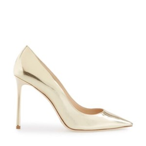 Jimmy Choo Gold metallic Pumps