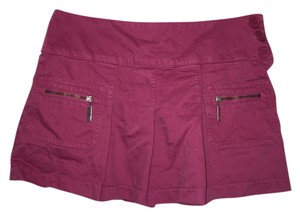 Juicy Couture Mini Skirt Raspberry