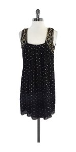 Calypso short dress Black Sequin Sleeveless on Tradesy