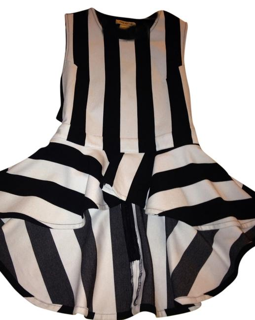 Arden B. Top Black And White
