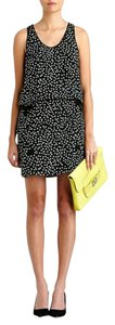 Diane von Furstenberg short dress Silk Print Which Way Racerback on Tradesy