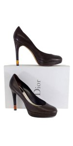 Dior Brown Leather Pumps