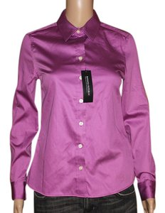 Banana Republic Button Down Shirt Purple