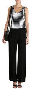 ZIMMERMANN Wide Leg Pants Navy Blue