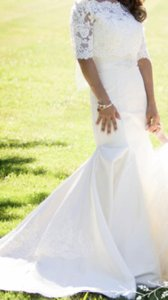 Allure Bridals Allure Wedding Dress In Ivory Wedding Dress