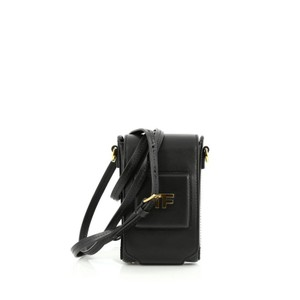 Tom Ford Camera Leather Satchel