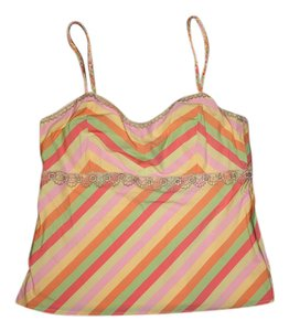 Cynthia Steffe Braided Straps Top Multicolor