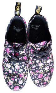Dr. Martens Black floral Athletic