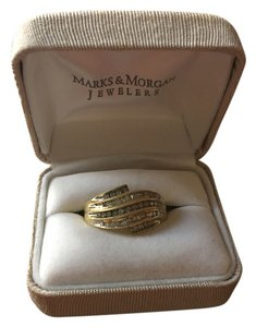 Marks & Morgan Gold and diamond ring
