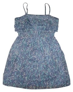LC Lauren Conrad short dress Blue Flowy on Tradesy