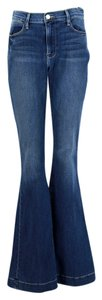 Frame Denim Flare Leg Jeans-Medium Wash